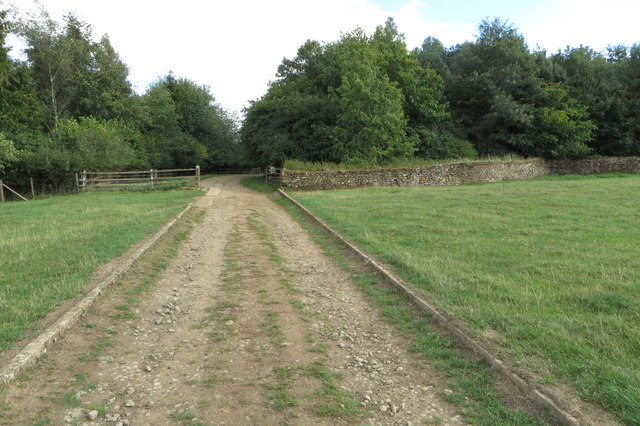 Bridleway towards Sandy Lane