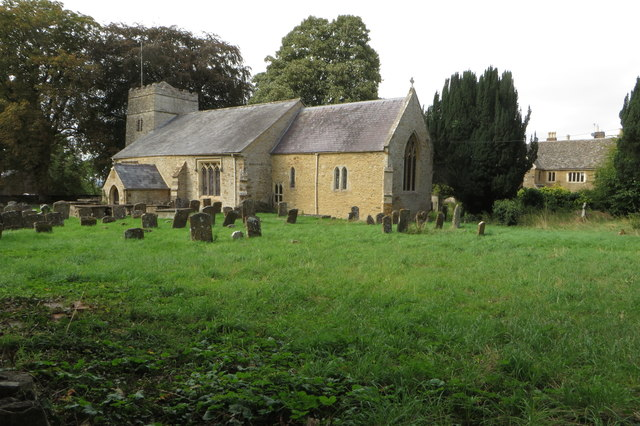 St James' church and churchyard