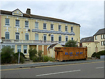TM2531 : Hotel Continental (closed) Dovercourt by Robin Webster