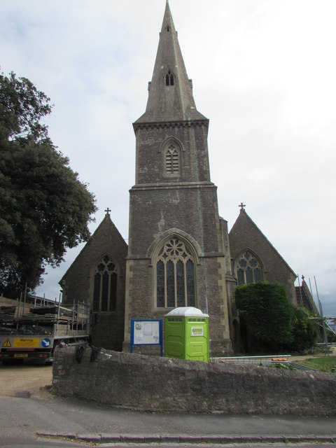 West side of Christ Church, Weston-super-Mare