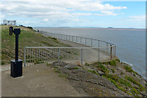 ST1166 : A view across the Bristol Channel from Barry Island by Robin Drayton