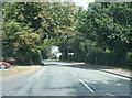 SJ4006 : A488 at The Nag's Head, Pontesbury by Colin Pyle