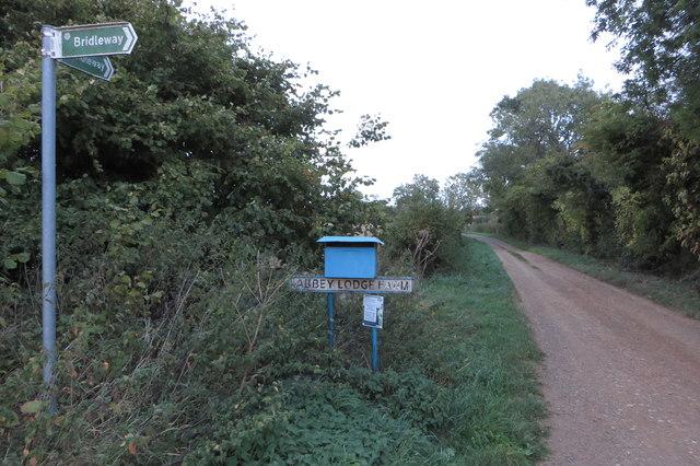 Bridleway to Halse