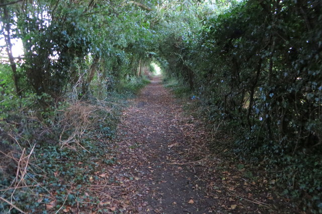 Bridleway south to the A422