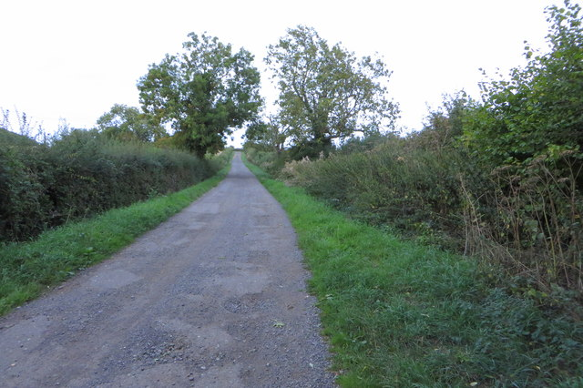 Bridleway to Halse
