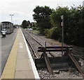 ST5484 : Northern end of the Severn Beach Line,  South Gloucestershire by Jaggery