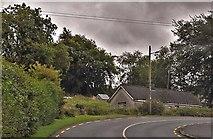 N4072 : House by bend, R395 by N Chadwick