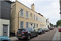 TM2632 : Former school, King's Quay Street, Harwich by Robin Webster