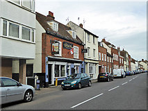 TM2532 : The British Flag, West Street, Harwich by Robin Webster