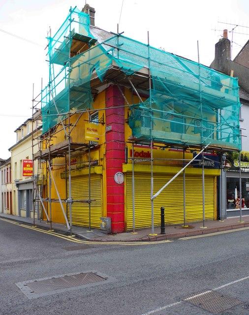 Former Kodak Express shop (Irwins), 69 North Main Street, Youghal, Co. Cork
