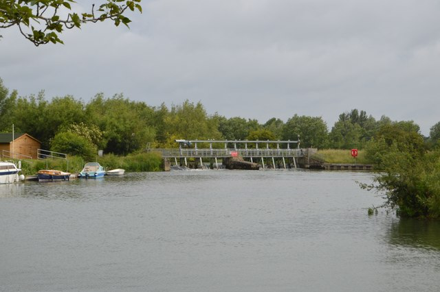 Weir, King's Lock