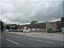 SD7213 : Co-operative food store and Post Office on Darwen Road (B6472) by JThomas