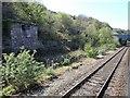 SH8878 : View from a Chester-Holyhead train - Industrial workings near Llysfaen by Nigel Thompson