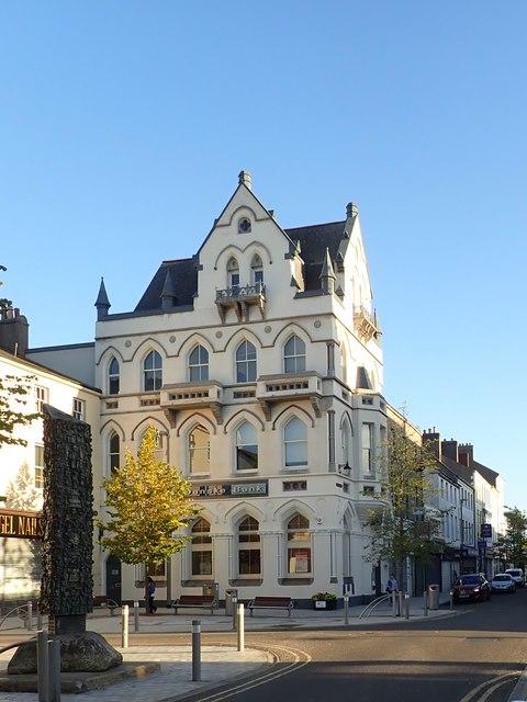 The newly refurbished Danske Bank in Hill Street, Newry
