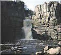 NY8828 : The 3-step northern fall at High Force by Stanley Howe