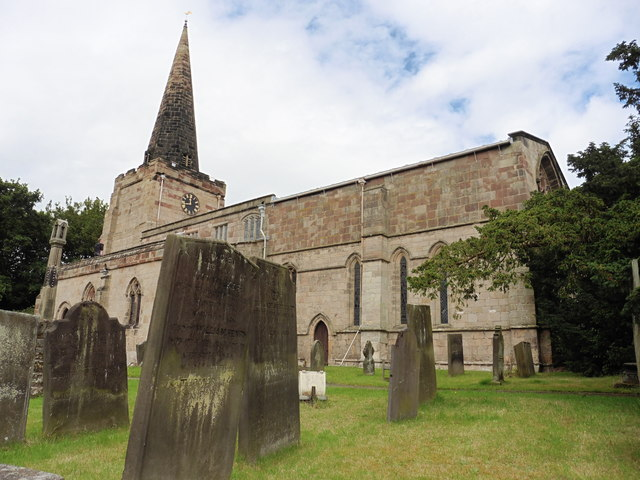 Doveridge, Derbyshire, St Cuthbert by Dave Kelly