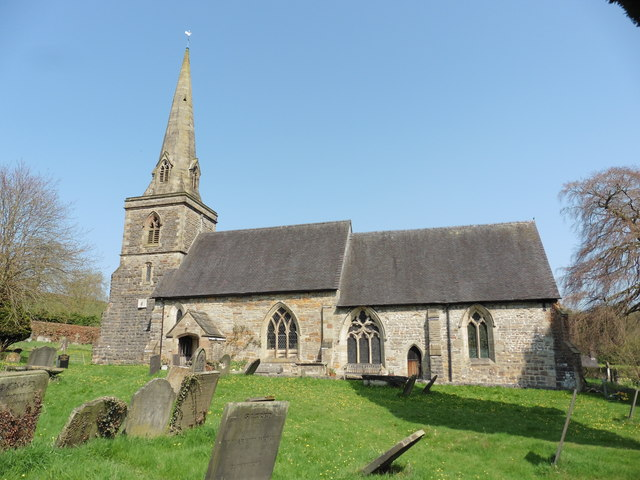 Fenny Bentley, Derbyshire, St Edmund King & Martyr