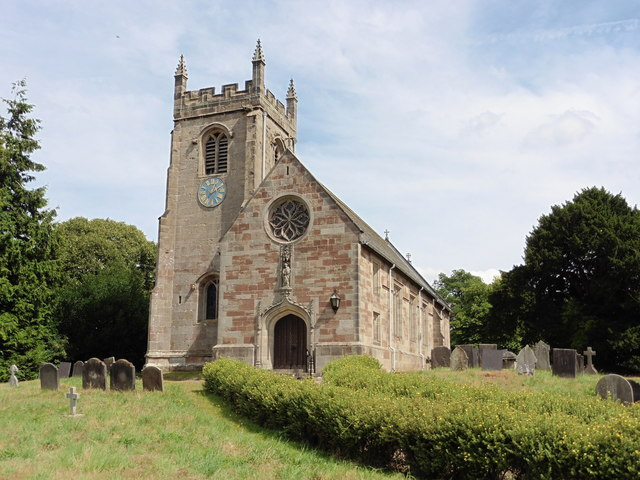 Snelston, Derbyshire, St Peter