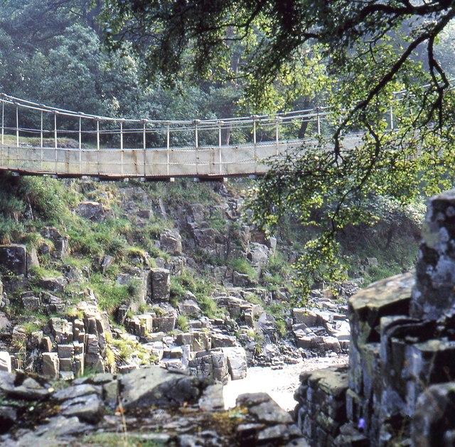 Wynch Bridge, Newbiggin (1970)