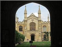 TL4458 : Corpus Christi College, Cambridge by Peter S