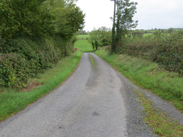 Lane joining Local Road L1618 at Carrowmore