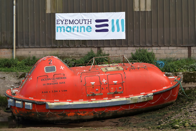 The Ocean Guardian at Eyemouth Boatyard