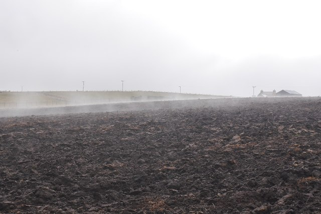 Ploughed field, Burray
