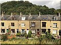 SD9126 : Street of terraced houses, Vale by David Robinson