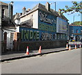 ST5874 : Welcome to Bristol's Indie Shopping District by Jaggery
