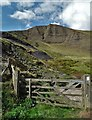 SK1383 : A view of Mam Tor from the east : Week 37