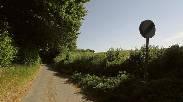 Lane to Down Barn