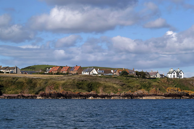 Houses at St Abbs