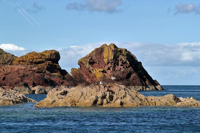 Wuddy Rocks, St Abbs