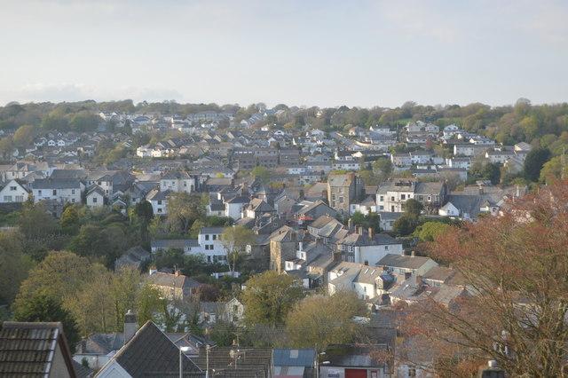 Roofscape, Penryn