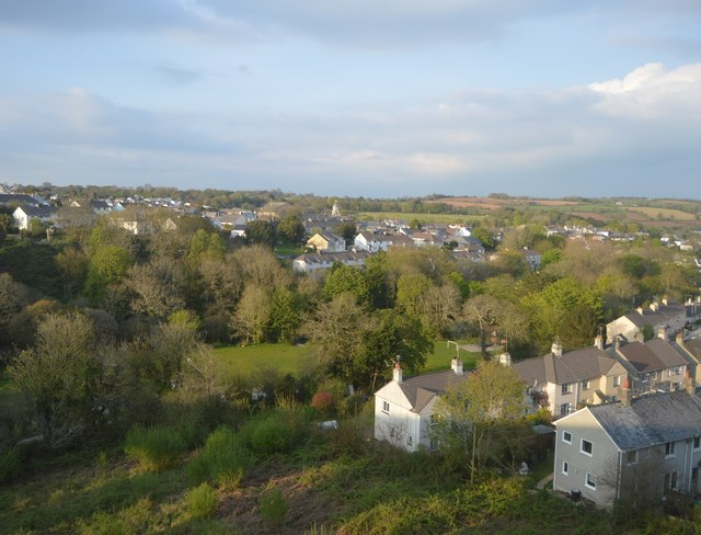 View over Penryn