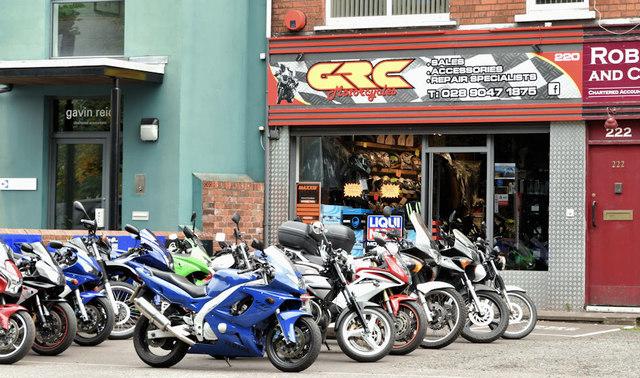 GRC Motorcycles, Belfast (September 2018)
