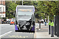J3774 : Glider bus, Upper Newtownards Road, Belfast (September 2018) by Albert Bridge