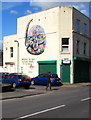 ST6074 : Pangolin mural, Robert Street, Easton, Bristol by Jaggery