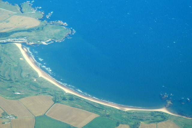 Bay of Cruden from the air