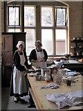 NU0702 : Victorian kitchen, Cragside by Gordon Hatton