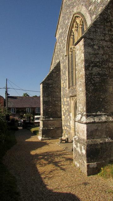 West end, Church of St Mary The Virgin, Homington