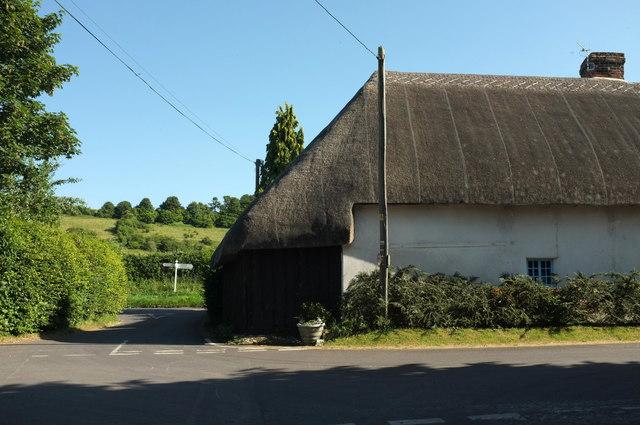 Thatched cottage, Homington