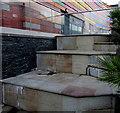ST3187 : Chartist Steps upper level, Friars Walk, Newport : Week 37