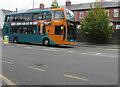 ST3187 : Cardiff Bus double-decker, Kingsway, Newport by Jaggery