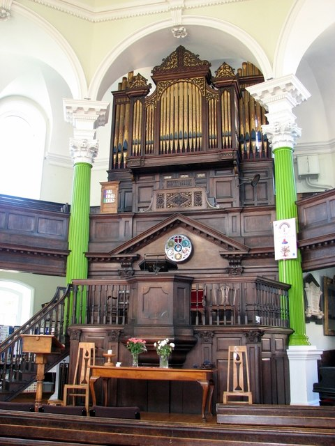 The Octagon Chapel on Colegate (interior)