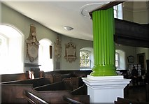 TG2309 : The Octagon Chapel on Colegate (interior) by Evelyn Simak