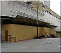 ST3188 : Boarded-up west side of Upper Dock Street, Newport by Jaggery