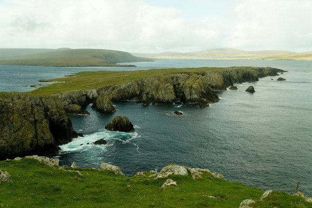 The north end of Balta from Muckle Head