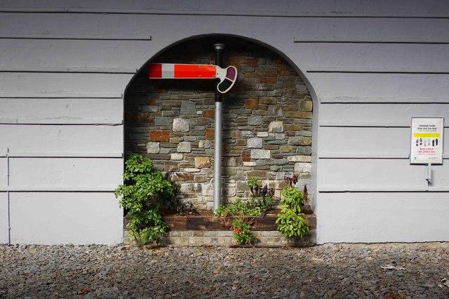 Killarney Railway Station (2) - old signal, Fair Hill, Killarney, Co. Kerry