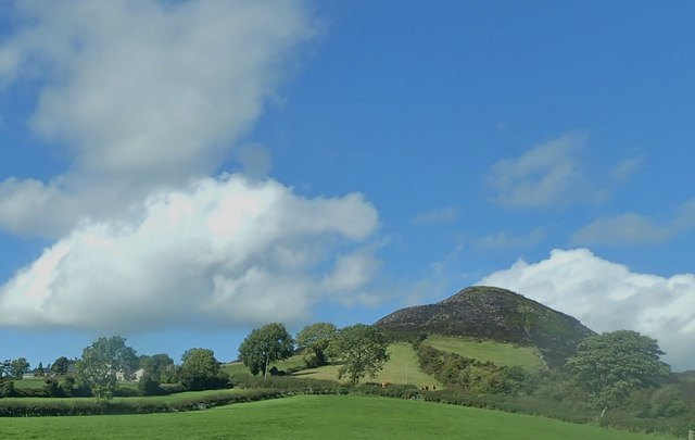 Sugar Loaf Hill on Sturgan Mountain from the B30
